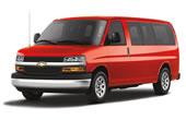 Chevrolet Van Express 15pax 2013 Automática
