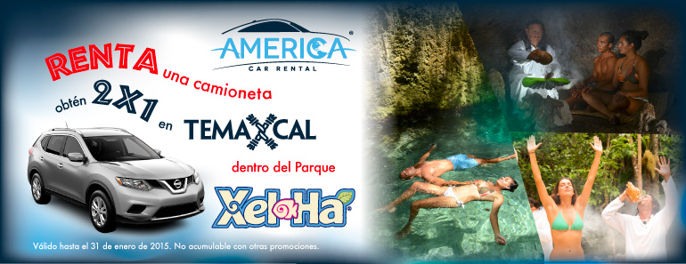 2 x 1 Tamaxcal with Xel-Ha