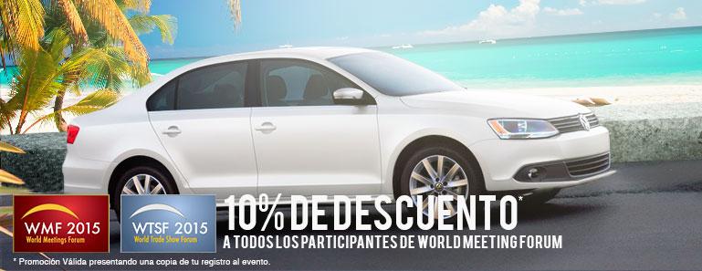 10% de descuento a todos los participantes de World Meeting Forum